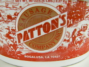 PATTONS HOT SAUSUAGE LINKS